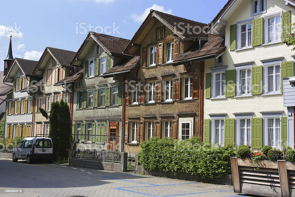 Appenzell, Switzerland stock photo