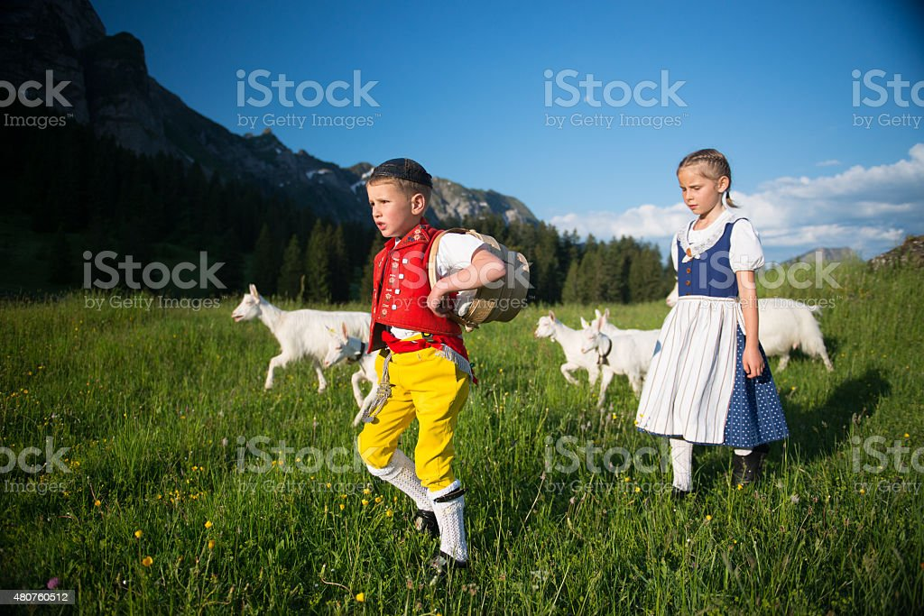 Appenzeller Tradition stock photo