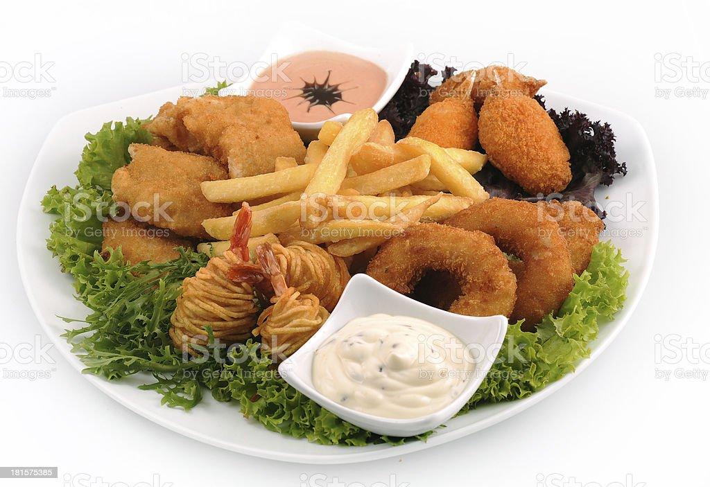 Appetizer Combo Dish royalty-free stock photo