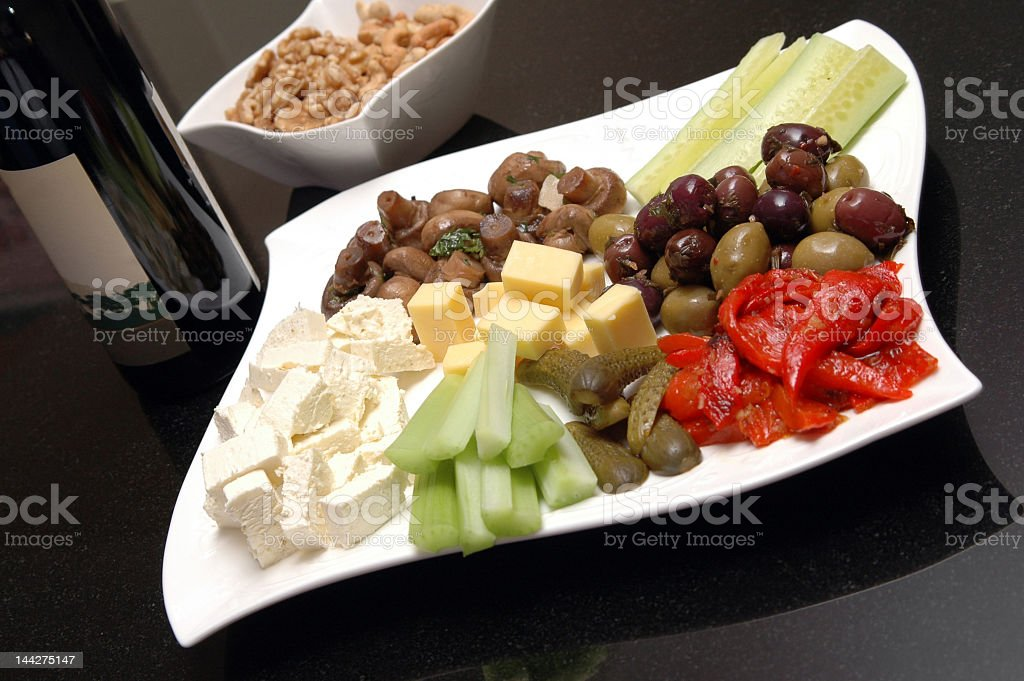 Appetizer stock photo