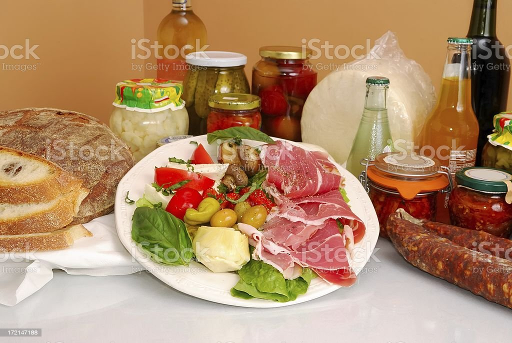 antipasto royalty-free stock photo