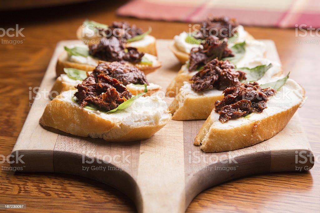 Appetizer Platter royalty-free stock photo