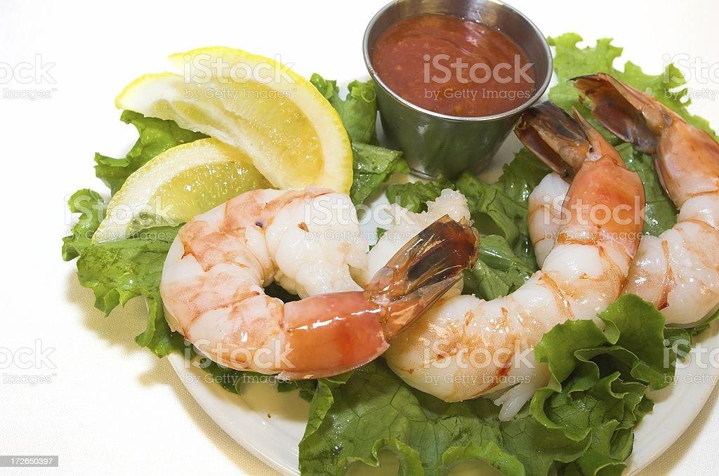 appetizer shrimp cocktail royalty-free stock photo