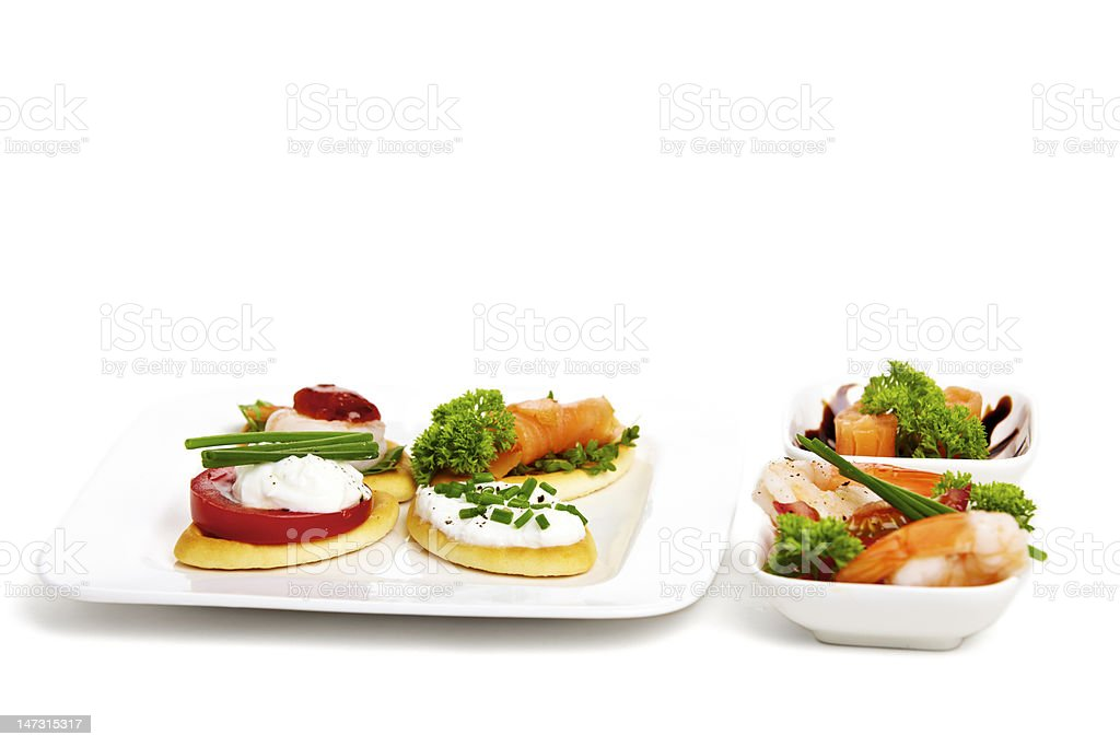 Appetizer variation royalty-free stock photo