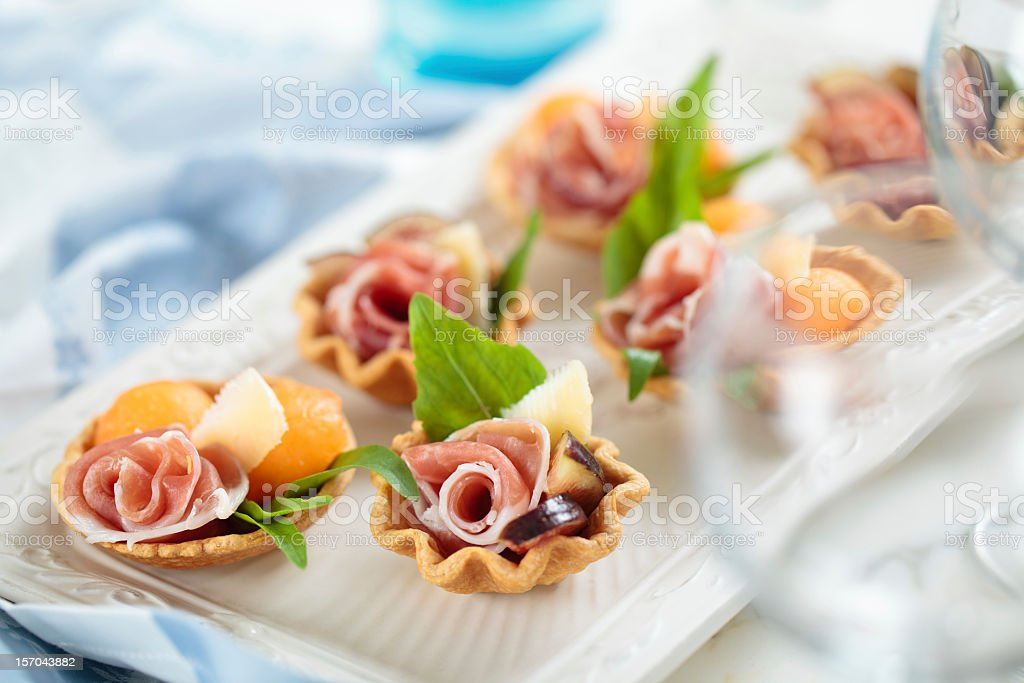Appetizers. stock photo