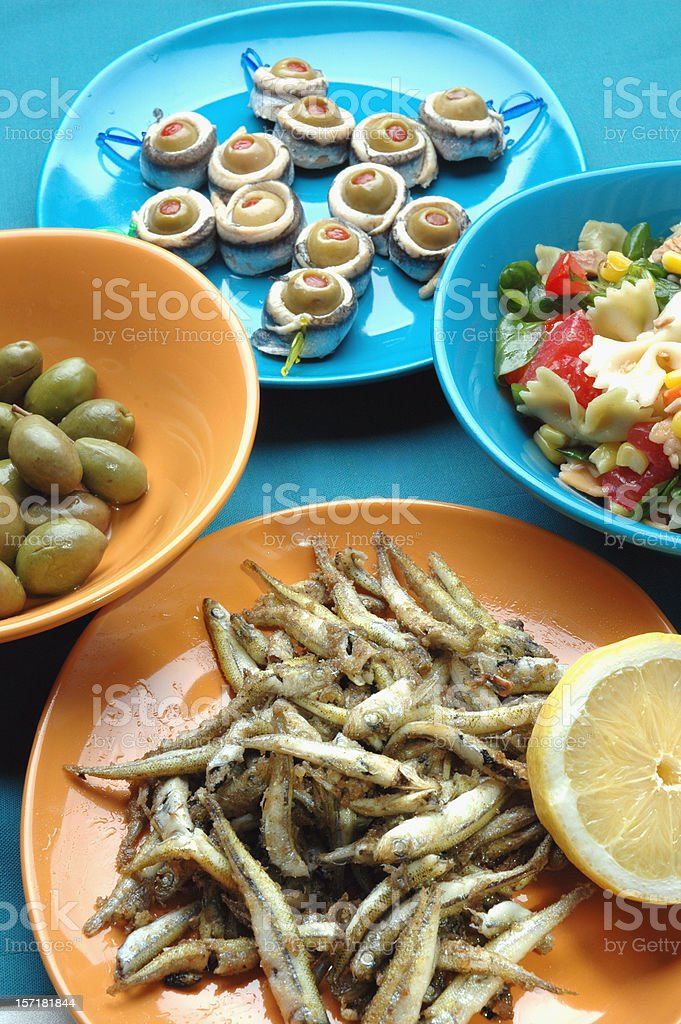 Appetizers royalty-free stock photo