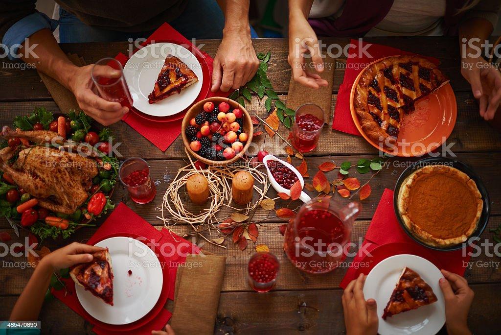 Appetizing dessert stock photo