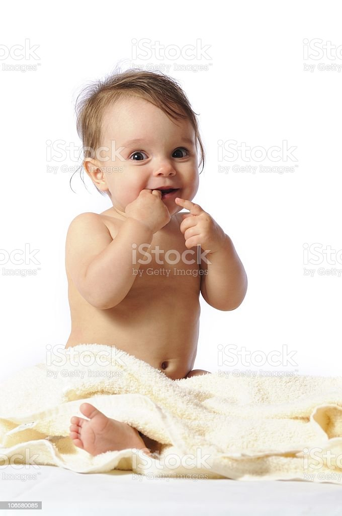 Appetizing fingers royalty-free stock photo