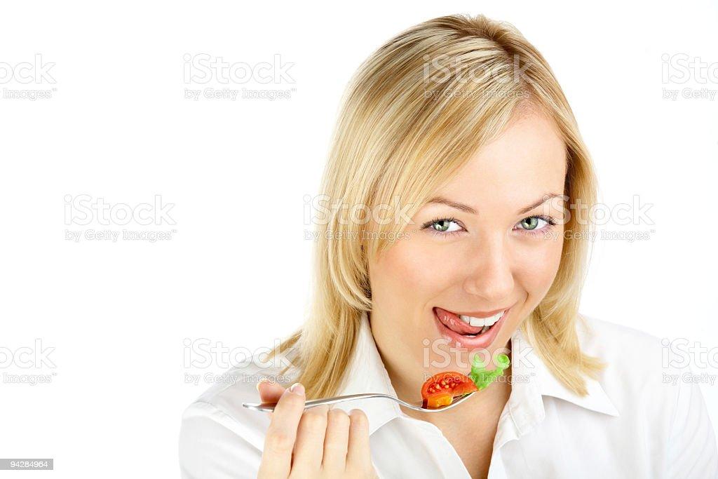 Appetizing lettuce! royalty-free stock photo
