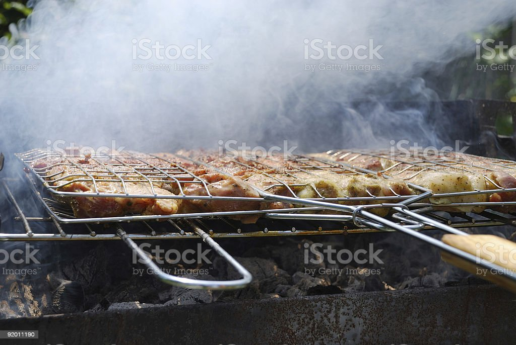 Appetizing pastime stock photo