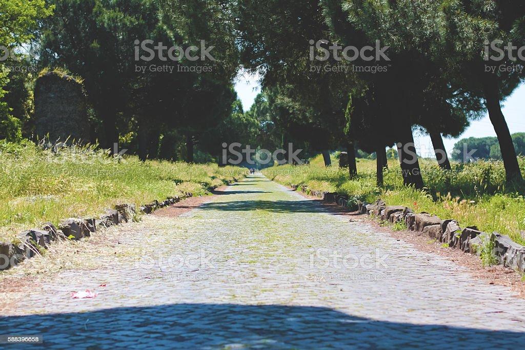 Appia Antica stock photo