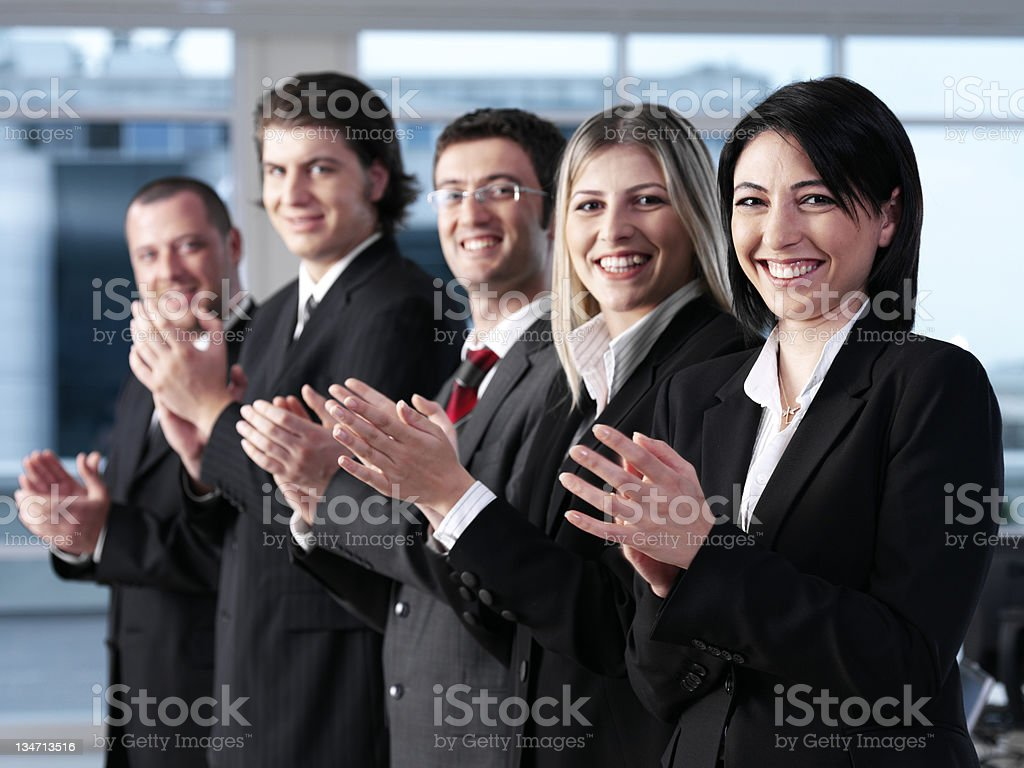 Applaude royalty-free stock photo