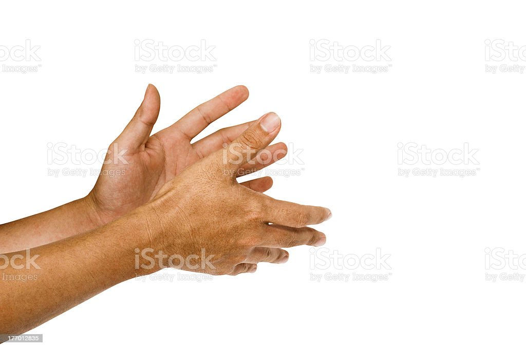 applause, clapping hand royalty-free stock photo
