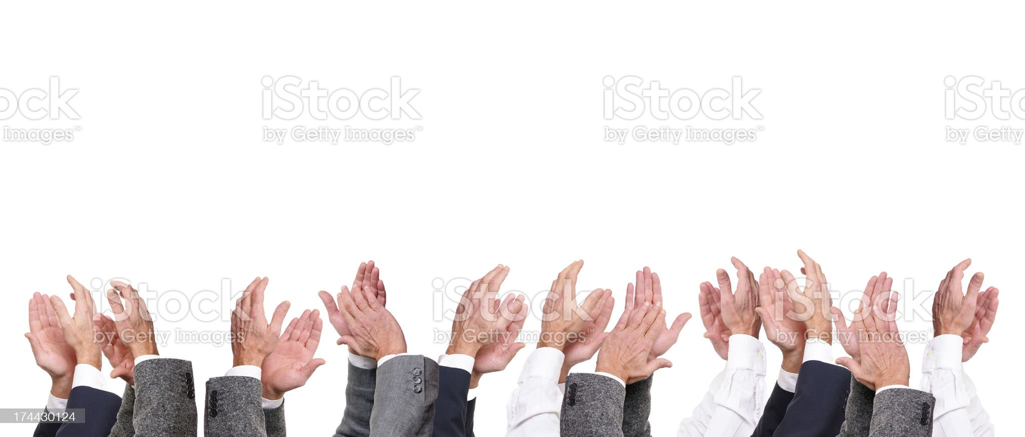 Applause royalty-free stock photo
