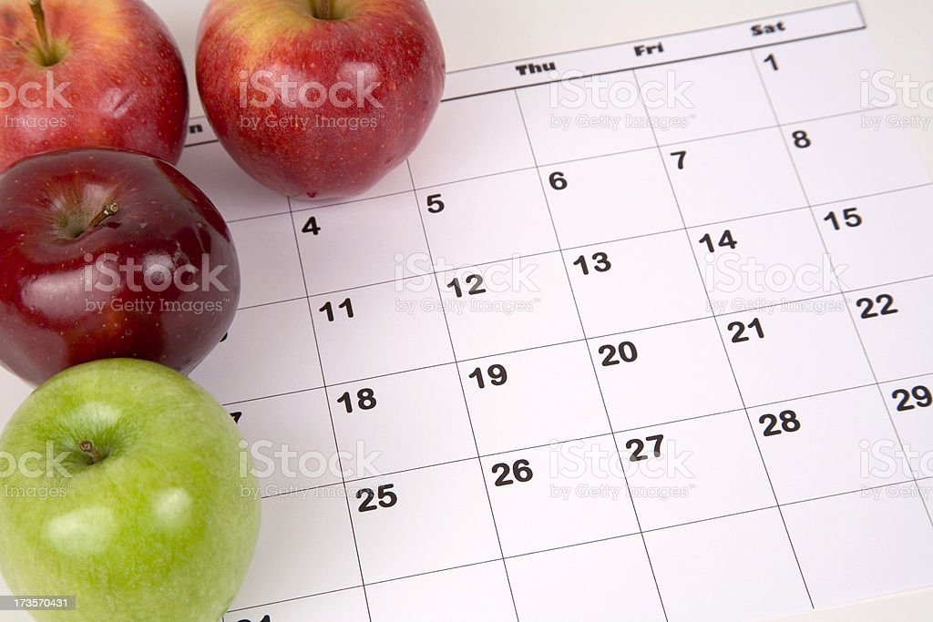Apple A Day 4 royalty-free stock photo