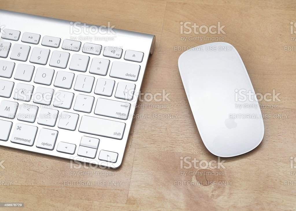 Apple Accessories stock photo