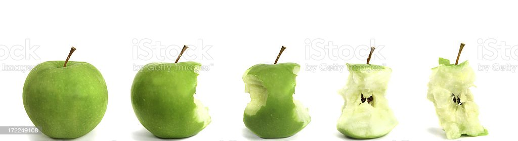 Apple Banner royalty-free stock photo
