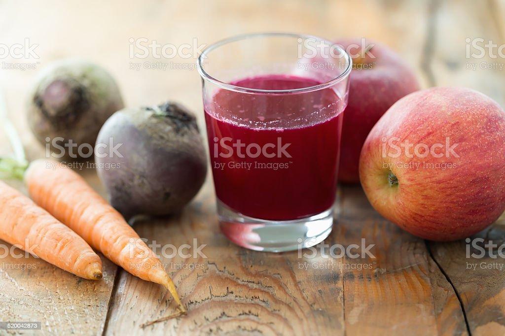 Apple Beet Juice stock photo