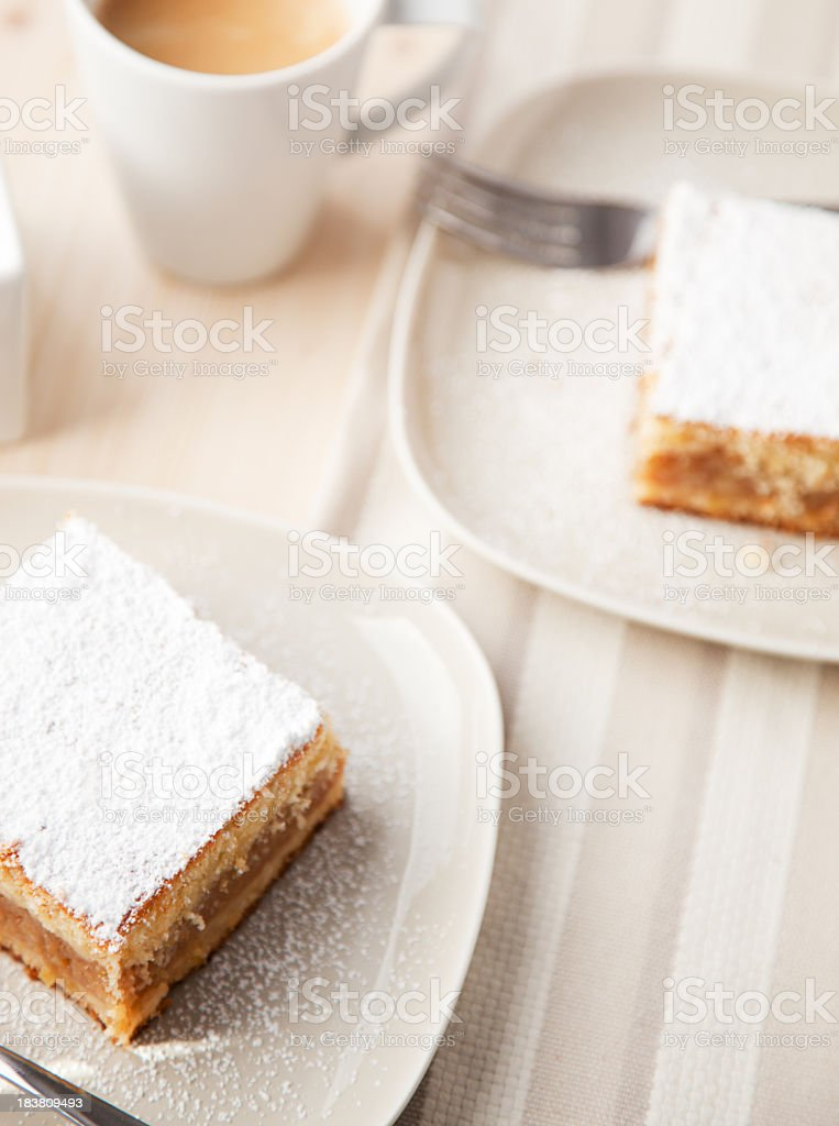 Apple Cake royalty-free stock photo