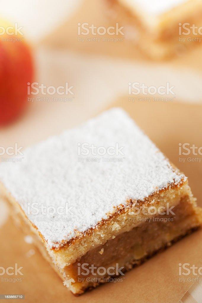 Apple Cake royalty-free stock photo