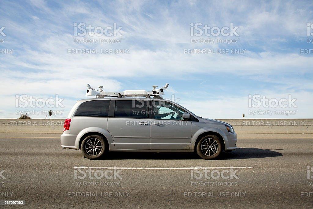 Apple Car stock photo
