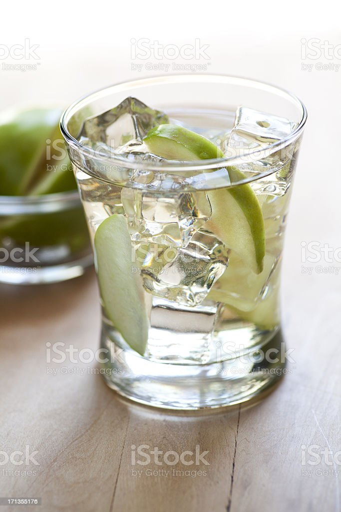 Apple cider cocktail royalty-free stock photo