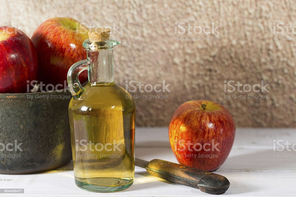 Apple Cider Vinegar stock photo