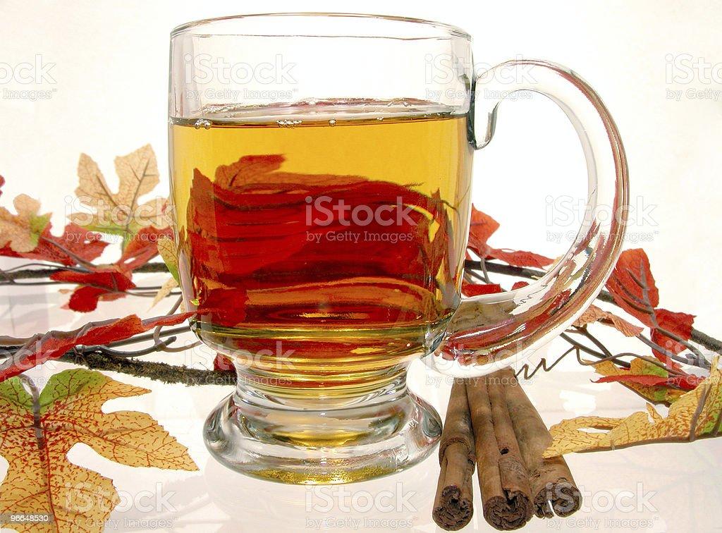 Apple Cider w/Cinnamon Sticks royalty-free stock photo