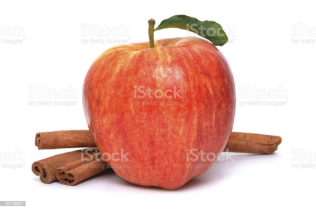 Apple Cinnamon stock photo