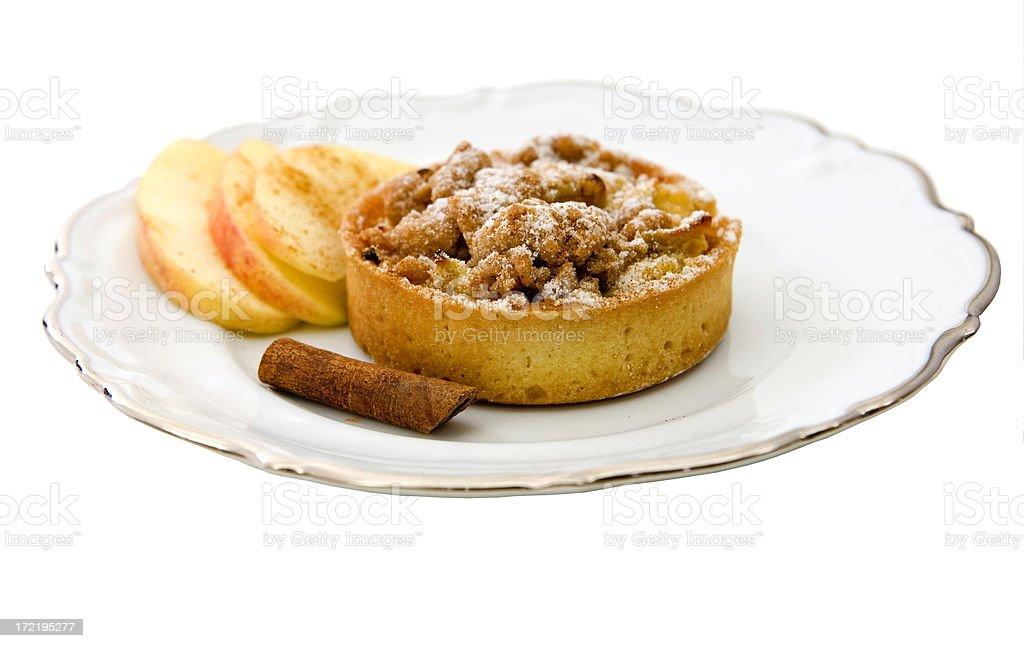 Apple Cinnamon Tart royalty-free stock photo