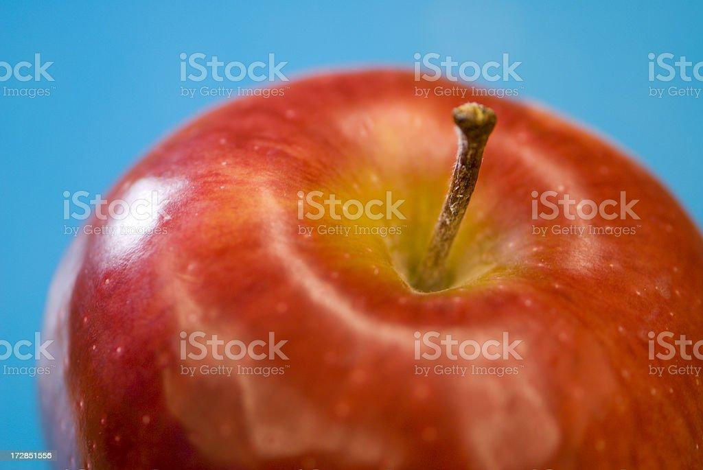 Apple Closeup royalty-free stock photo