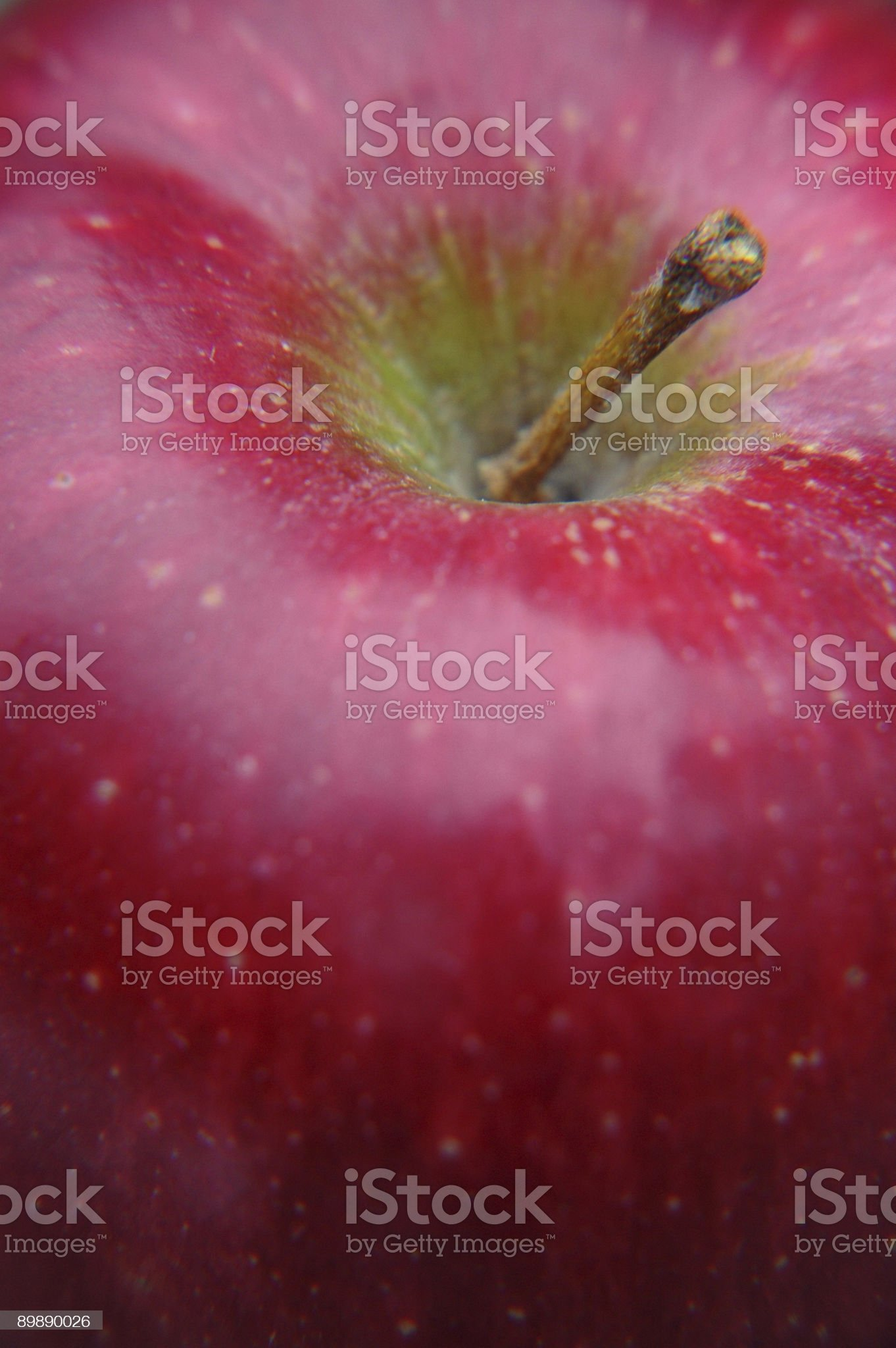 Apple Close-up royalty-free stock photo