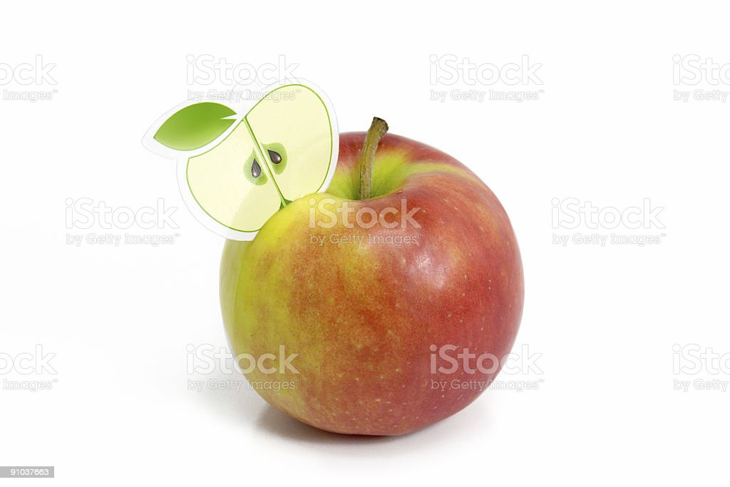 Apple Cocktail royalty-free stock photo
