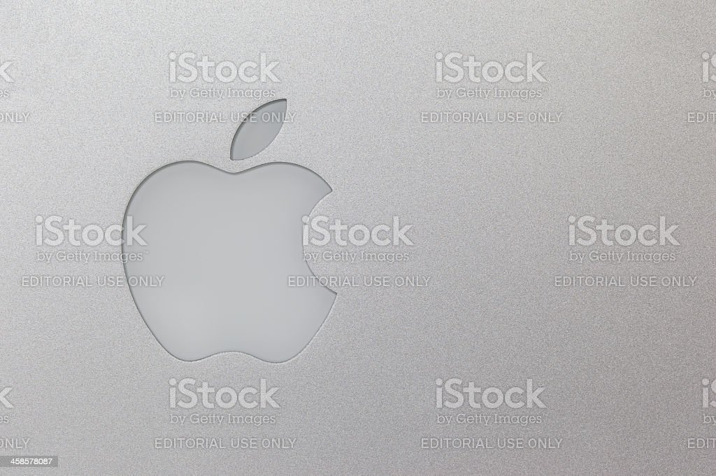 Apple Computers Logo royalty-free stock photo