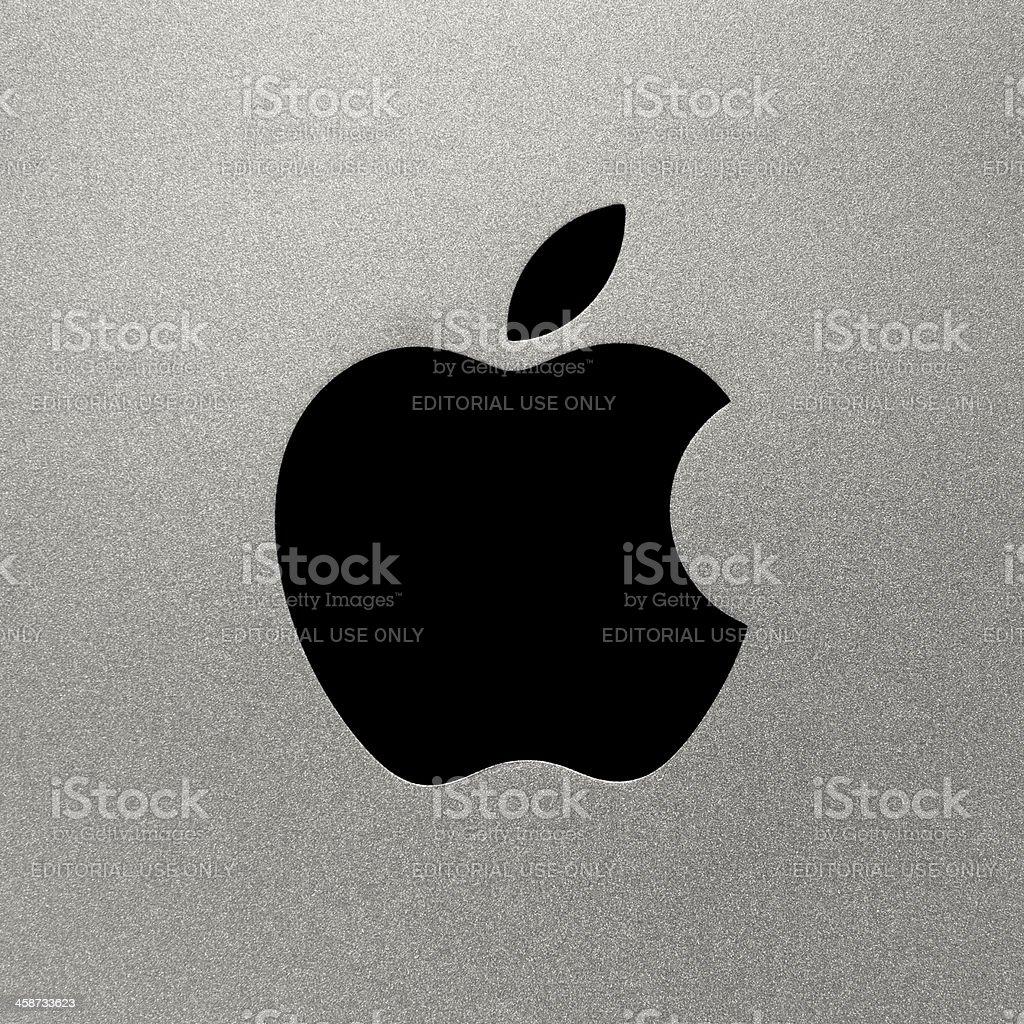 Apple Computers Logo stock photo