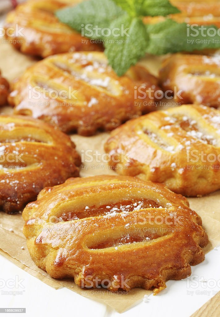 apple cookies royalty-free stock photo