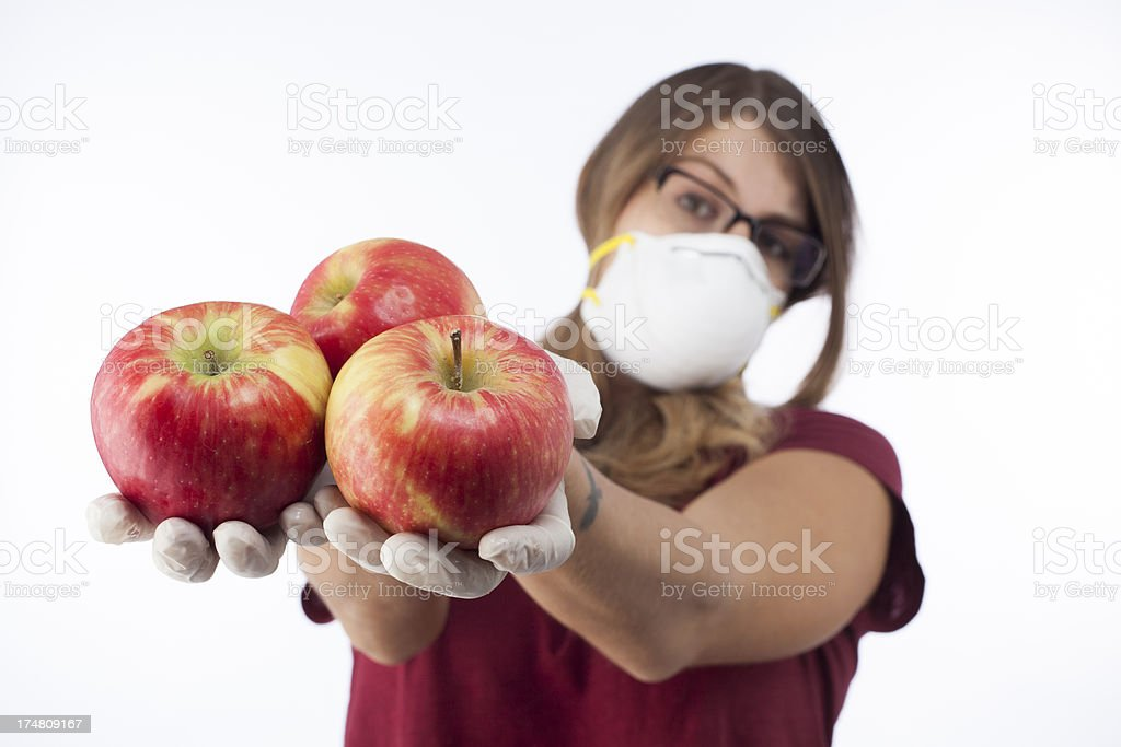 apple danger royalty-free stock photo