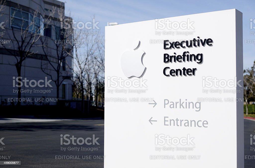 Apple Executive Briefing Center stock photo