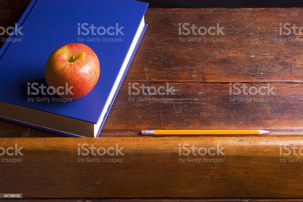 Apple for the Teacher stock photo
