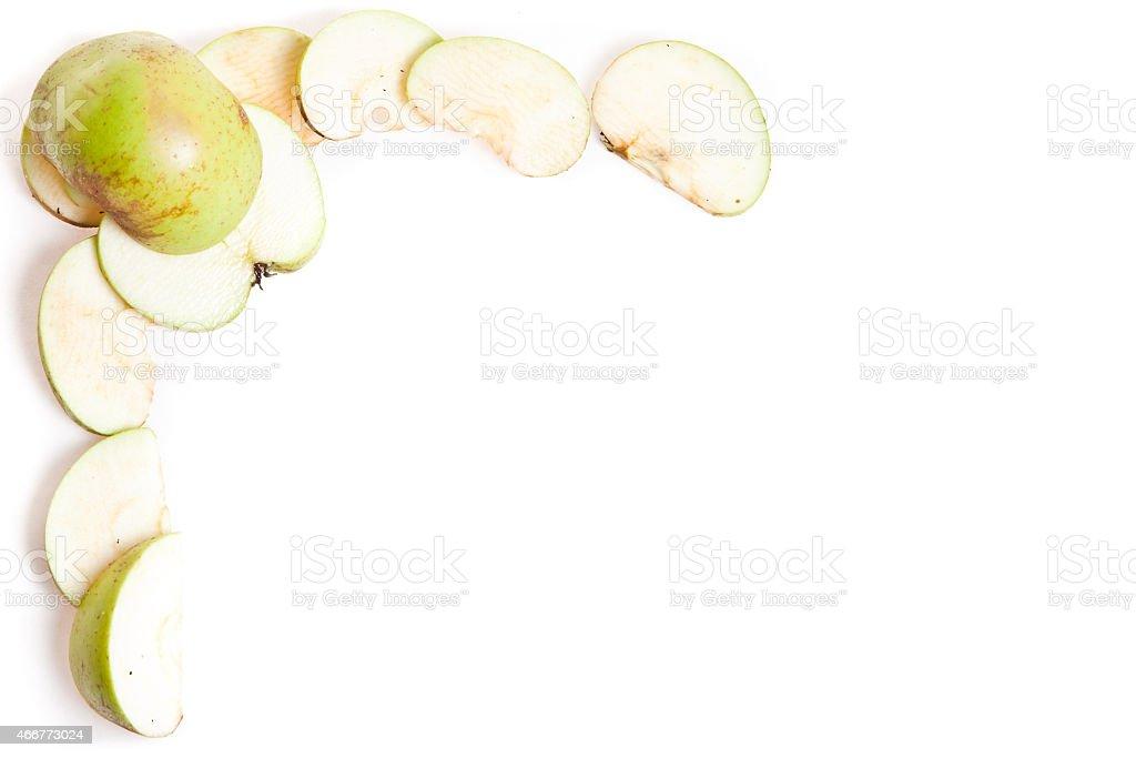 Apple frame Стоковые фото Стоковая фотография