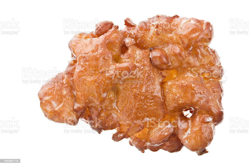 Apple Fritter Donut royalty-free stock photo