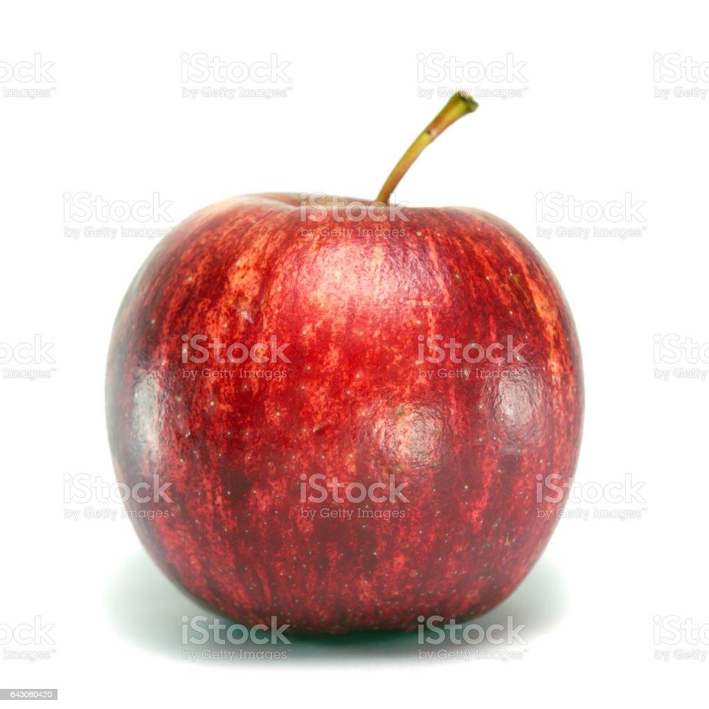 Apple fruit isolated on white background stock photo