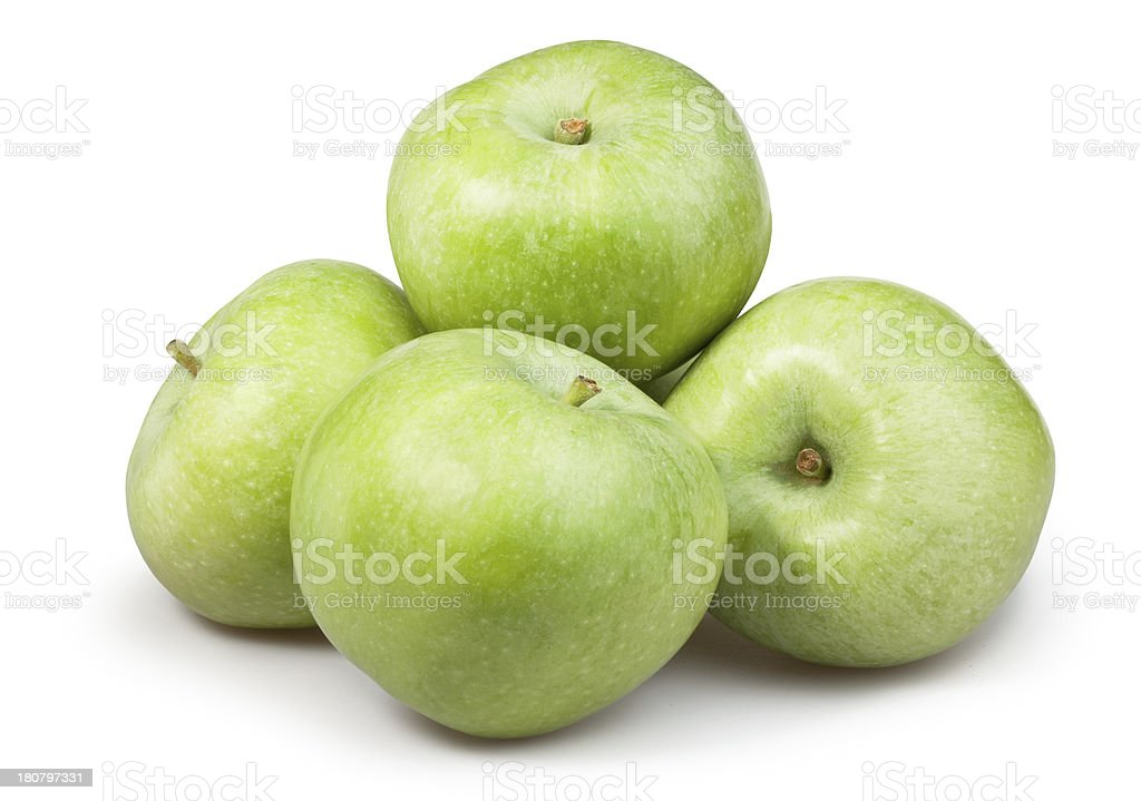 apple green group royalty-free stock photo