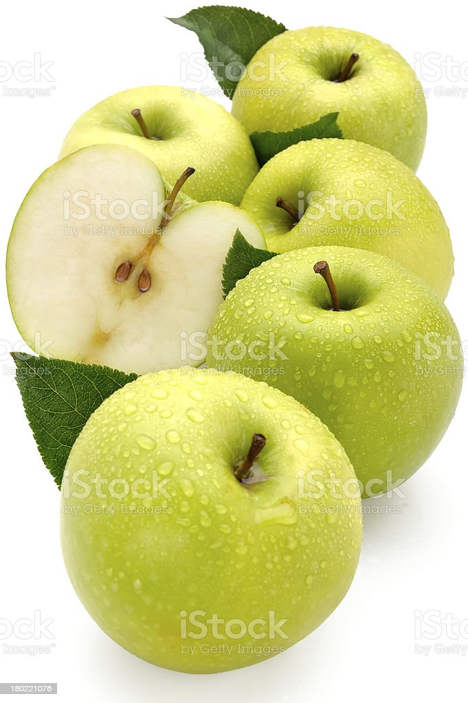 Apple & healthy eating royalty-free stock photo