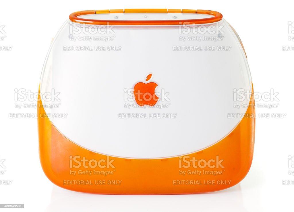 Apple iBook stock photo