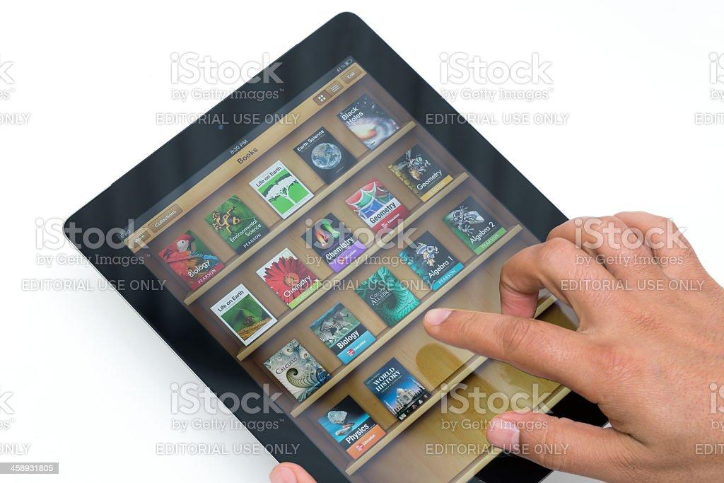 Apple iBooks stock photo