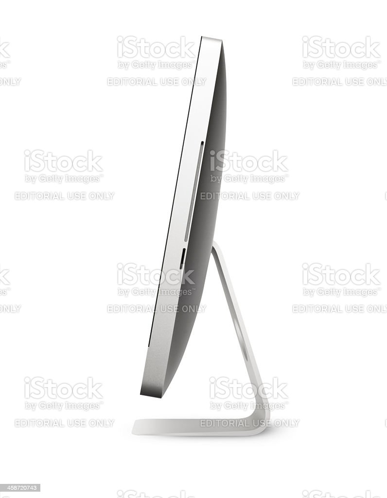 Apple iMac 27 inc Desktop Computer royalty-free stock photo