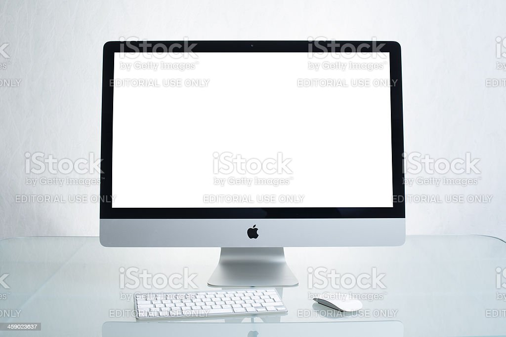Apple iMac stock photo