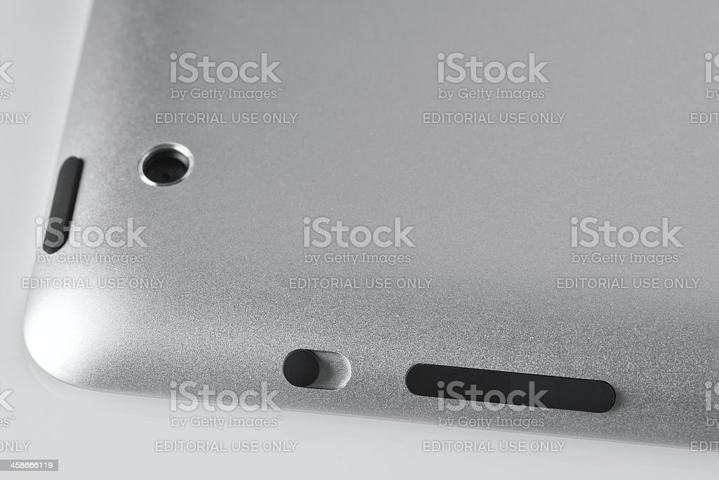 Apple iPad 2 detail stock photo