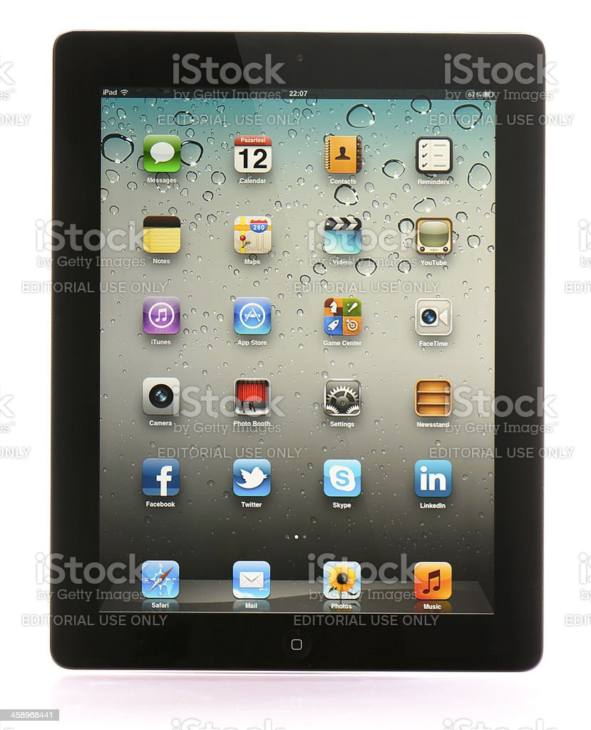 Apple iPad 2 royalty-free stock photo